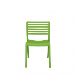 Source Outdoor Savannah Patio Side Chair in Green