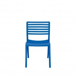 Source Outdoor Savannah Patio Side Chair in Blue