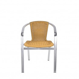 Source Outdoor Bermuda Patio Arm Chair in Honey