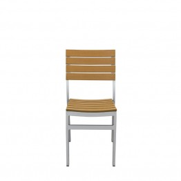 Source Outdoor Vienna Patio Side Chair in Teak