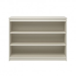 Ameriwood Home Elements 3 Shelf Bookcase in White