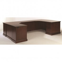DMi Furniture Executive Left Workstation U Desk