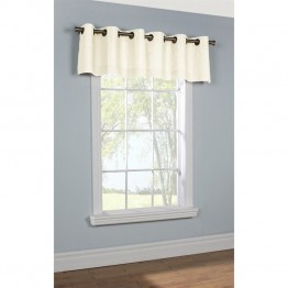 Commonwealth Thermalogic Insulated Grommet Valance in White