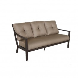 Sunvilla Allegro Patio Sofa in Cocoa