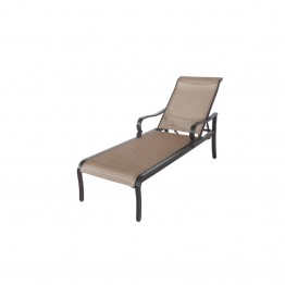 Sunvilla Laurel Patio Chaise Lounge in Hunter