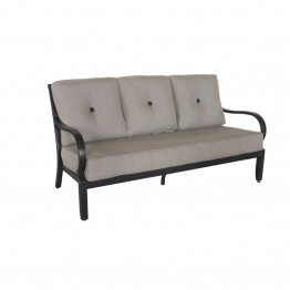 Sunvilla Laurel Patio Sofa in Shale