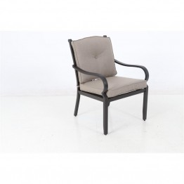 Sunvilla Laurel Patio Dining Chair in Shale