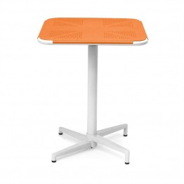 AEON Furniture Fly Square Folding Table in Orange