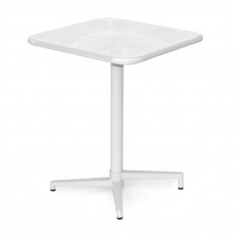 AEON Furniture Fly Square Folding Table in White