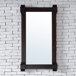 "James Martin Brittany 22"""" Mirror in Burnished Mahogany"