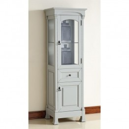 James Martin Brookfield Linen Cabinet in Urban Gary