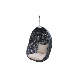 Harmonia Living Nimbus Patio Hanging Chair in Coffee Bean