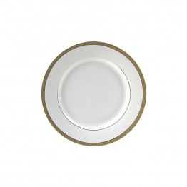 10 Strawberry Street Luxor Butter Plate in White and Gold (Set of 6)