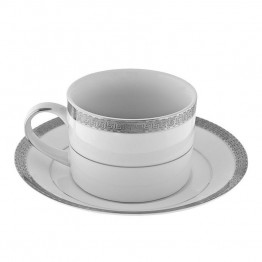 10 Strawberry Street Luxor Cup and Saucer (Set of 6)