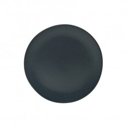 10 Strawberry Street Ripple Butter Plate in Black (Set of 6)