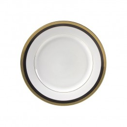 10 Strawberry Street Sahara Black Lunch Plate (Set of 6)