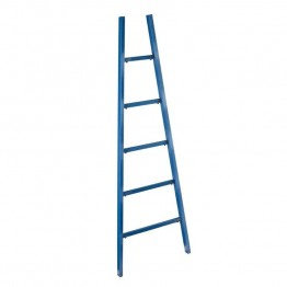Holly & Martin Zhowie Ladder Magazine Rack in Navy