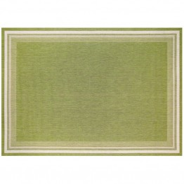 "SimplyShade Garden Cottage 7'10"""" x 10' Patio Rug in Lime"