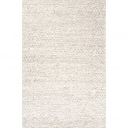 Jaipur Rugs Scandinavia Rakel 8' x 10' Textured Wool Rug in Ivory
