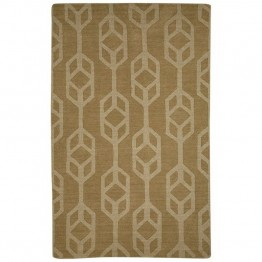 Jaipur Rugs Seneca 5' x 8' Hand Tufted Wool Rug in Beige and Brown