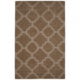 Jaipur Rugs Seneca 5' x 8' Hand Tufted Wool Rug in Tan
