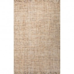 Jaipur Rugs Tweedy 5' x 8' Flat Weave Wool Rug in Yellow and Gray