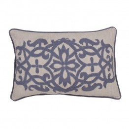 "Jaipur Rugs Inspired By Jennifer Adams Pillows 24"""" Linen Pillow"