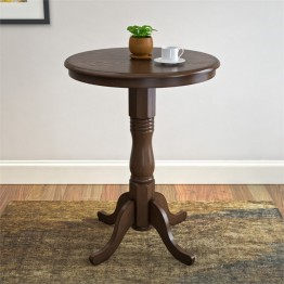 Woodgrove Bar Table in Dark Brown