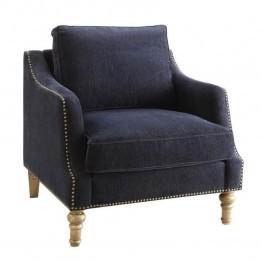 Coaster Vessot Accent Chair in Blue