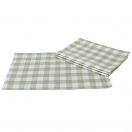 Xia Home Fashions Gingham Check Placemat in Natural (Set of 4)