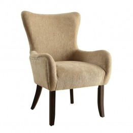 Coaster Casual Accent Chair in Soft Sand