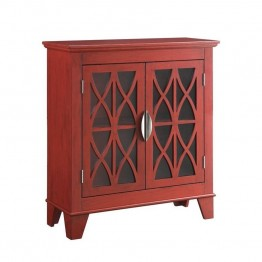 Coaster Accent Chest in Red