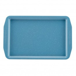 Paula Deen Speckle Bakeware Nonstick Baking Sheet in Gulf Blue Speckle
