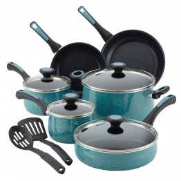 Paula Deen Riverbend Aluminum 12 Piece Nonstick Cookware Set
