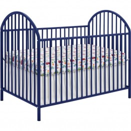 Ameriwood Home Prism Crib in Navy Blue