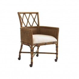 Tommy Bahama Bali Hai Tarpon Cove Game Chair in Warm Brown