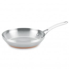 Anolon Nouvelle Copper Stainless Steel French Skillet