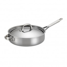 Anolon Tri-Ply Clad Saute Pan in Stainless Steel