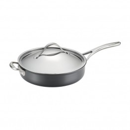 Anolon Nouvelle Copper Nonstick Saute Pan in Dark Gray