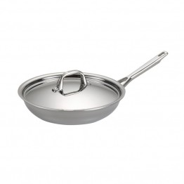 Anolon Tri-Ply Clad Skillet in Stainless Steel