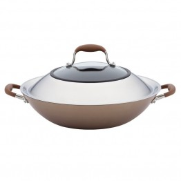 Anolon Advanced Bronze Nonstick Wok
