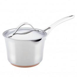 Anolon Nouvelle Copper Sauce Pan in Stainless Steel