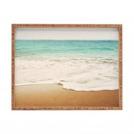 Deny Designs Bree Madden Ombre Beach Large Tray
