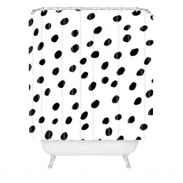 Deny Designs Rebecca Allen Dinner At Eight Shower Curtain