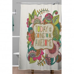 Deny Designs Today is Going to Be Awesome Shower Curtain