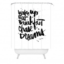 Deny Designs Kal Barteski Wake Up Shower Curtain