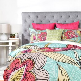 Deny Designs 3 Piece Valentina Ramos Beatriz Queen Duvet Set