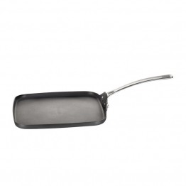 Circulon Genesis Hard Anodized Square Nonstick Griddle Pan in Black