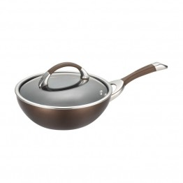 Circulon Symmetry Chocolate Nonstick Stirfry Pan
