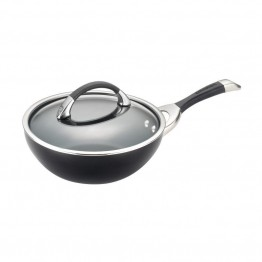 Circulon Symmetry Nonstick Stirfry Pan in Black